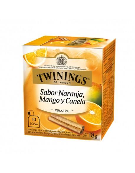 TWININGS ORANGE+MANGO+CINNAMOM