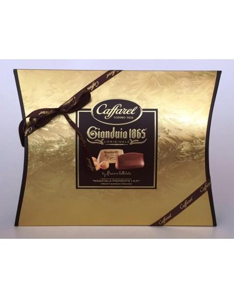 PILLOW BOX GOLD CHOCOLATE GIANDUIA X 350G